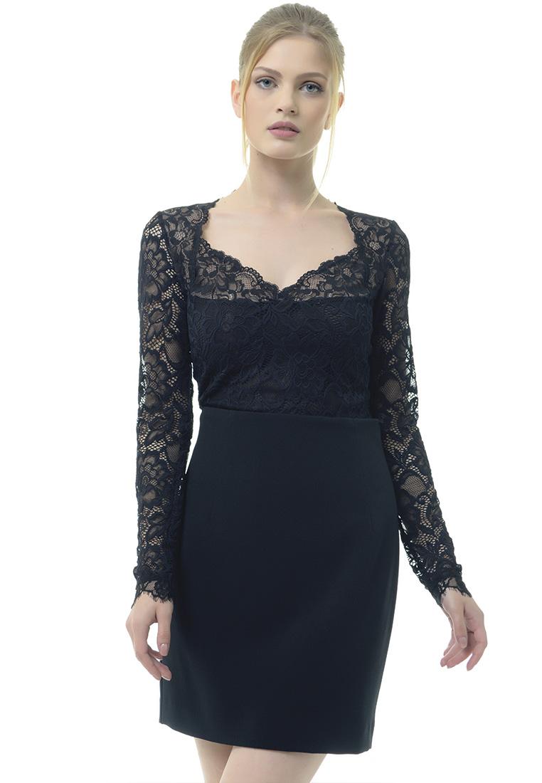 Женские боди Arefeva Блуза-боди L5217 черный L