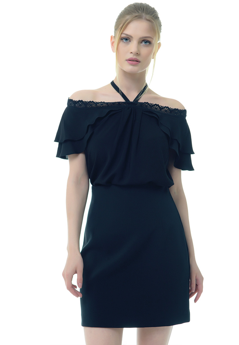 Женские боди Arefeva Блуза боди  L5208 Черный L