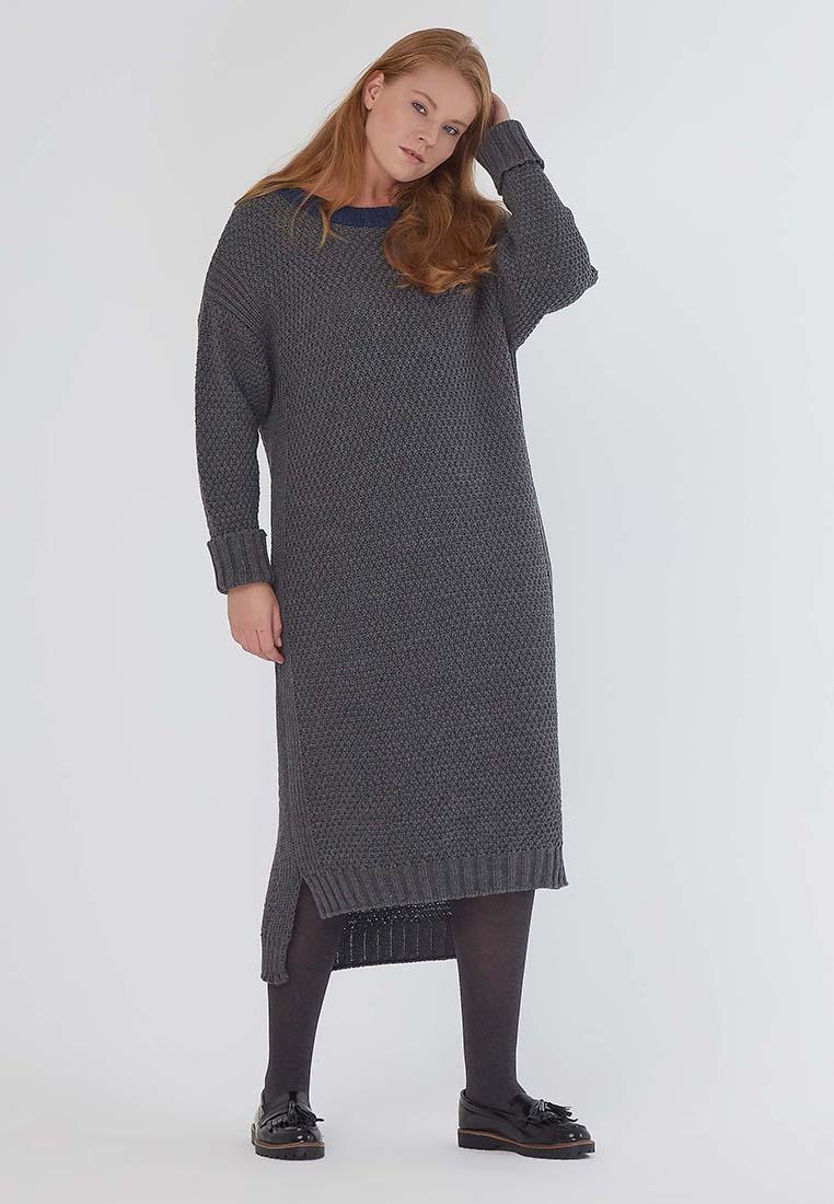Вязаное платье W&B LE-08 D01 06K-50/52