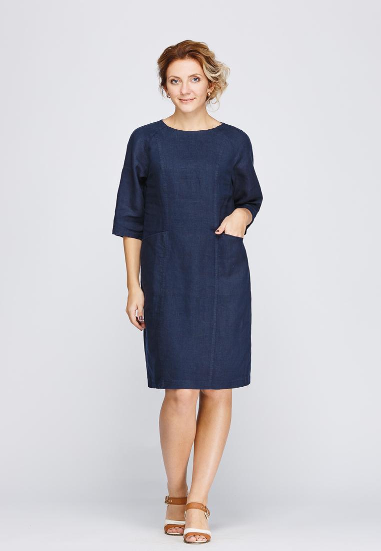 Платье-миди Kayros 2/92индиго-46
