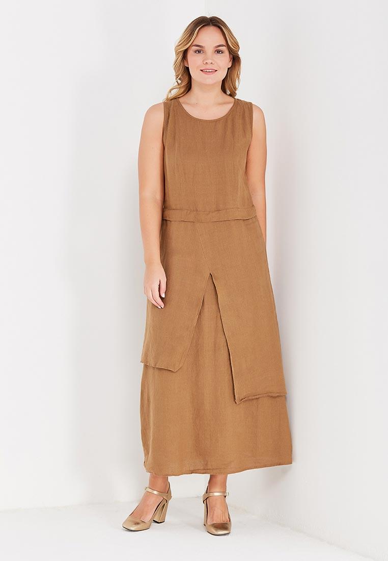 Платье Kayros 4/9корица-44-46