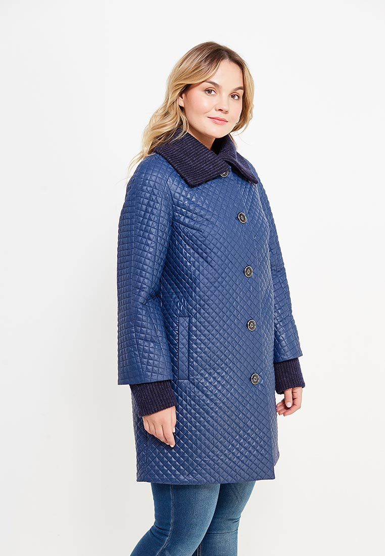 Утепленная куртка Оджи 2115-352-46-синий