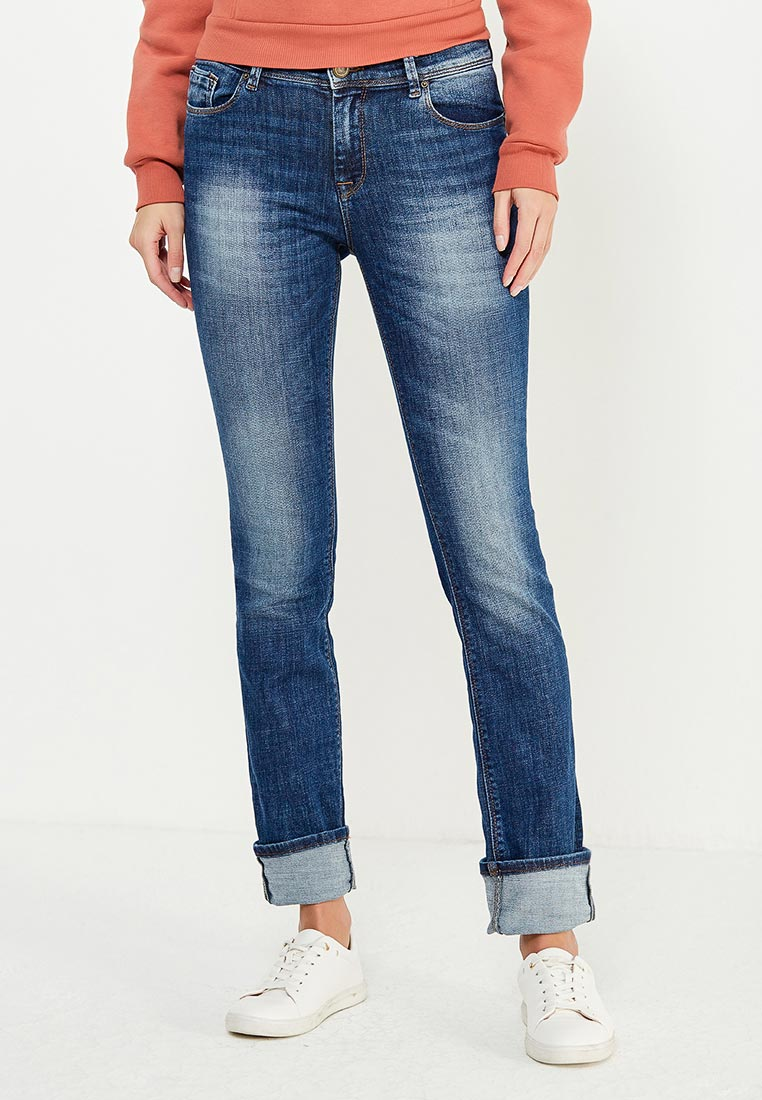Прямые джинсы WHITNEY W/BQ-849-675-EBRUS-blue-27/34