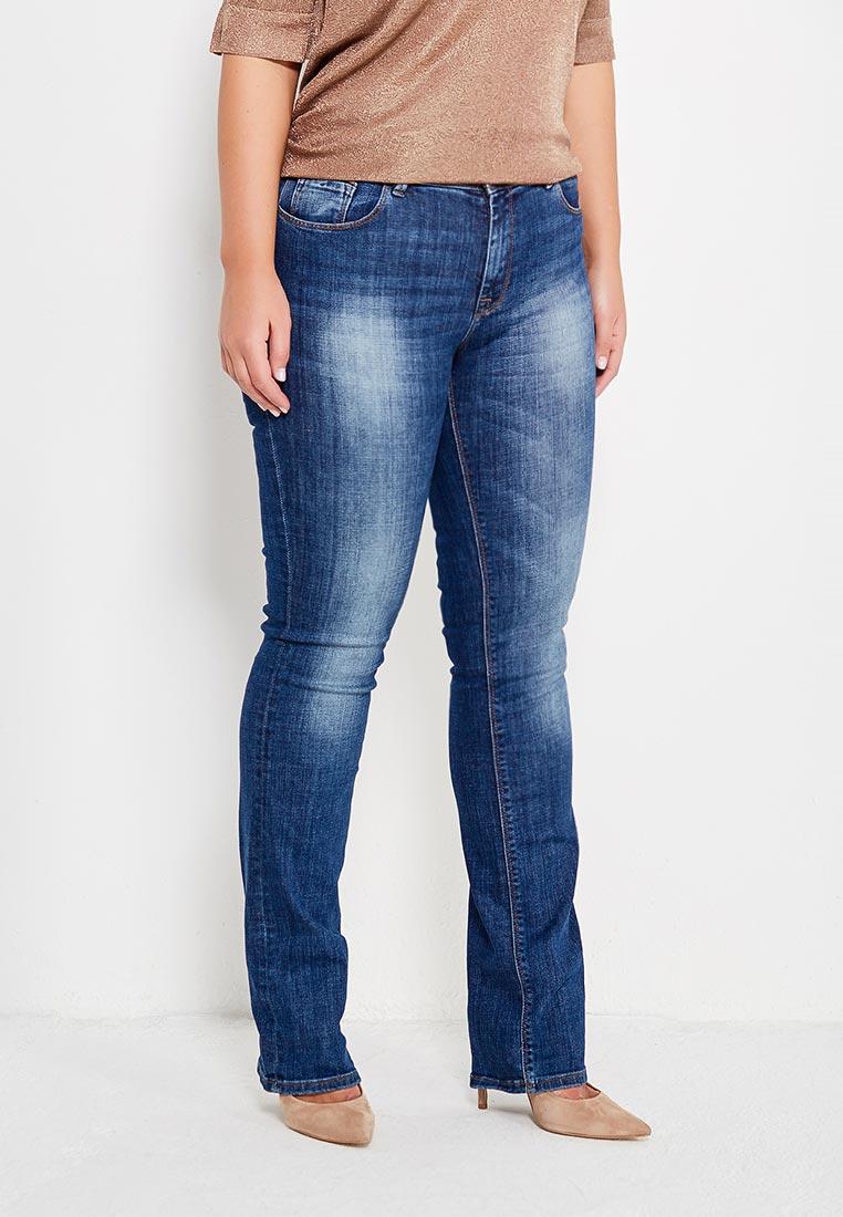 Прямые джинсы WHITNEY W/BQ-849-695-EBRUS-blue-32/32