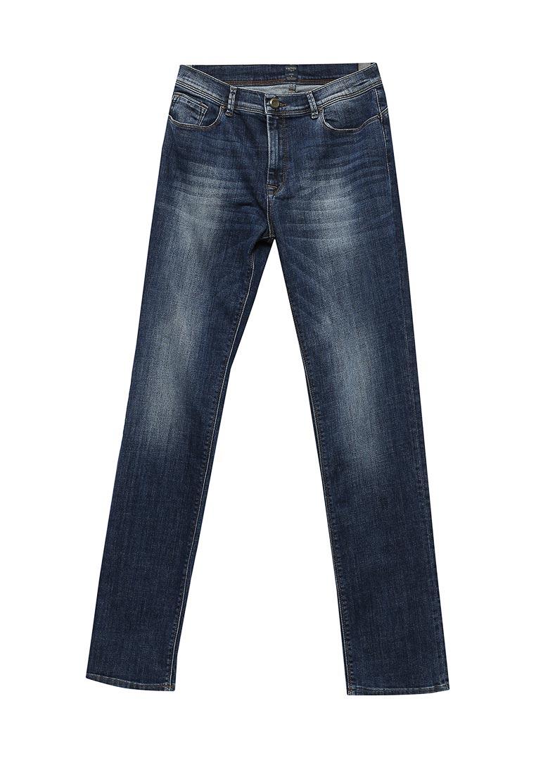 Прямые джинсы WHITNEY W/BQ-849-695-EBRUS-blue-32/34