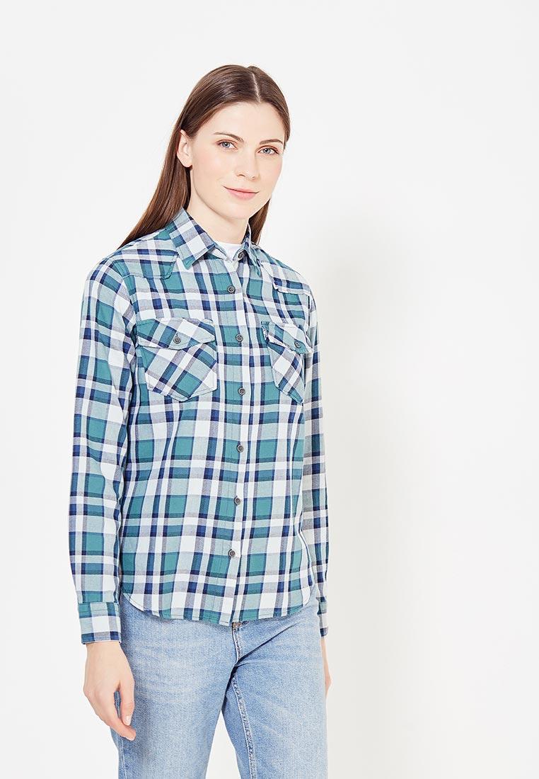 Женские рубашки с длинным рукавом WHITNEY W/B-GOMLEK-1-STOTCH-403-green-S