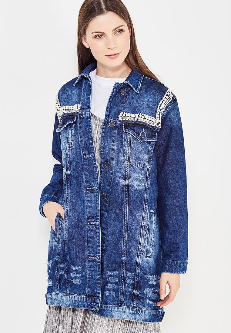 Джинсовая куртка WHITNEY W/B-MQ-311-TAC-354-blue-S