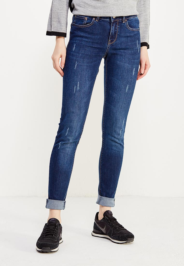 Зауженные джинсы WHITNEY W/BQ-815-11-INDIANA-blue-26/32