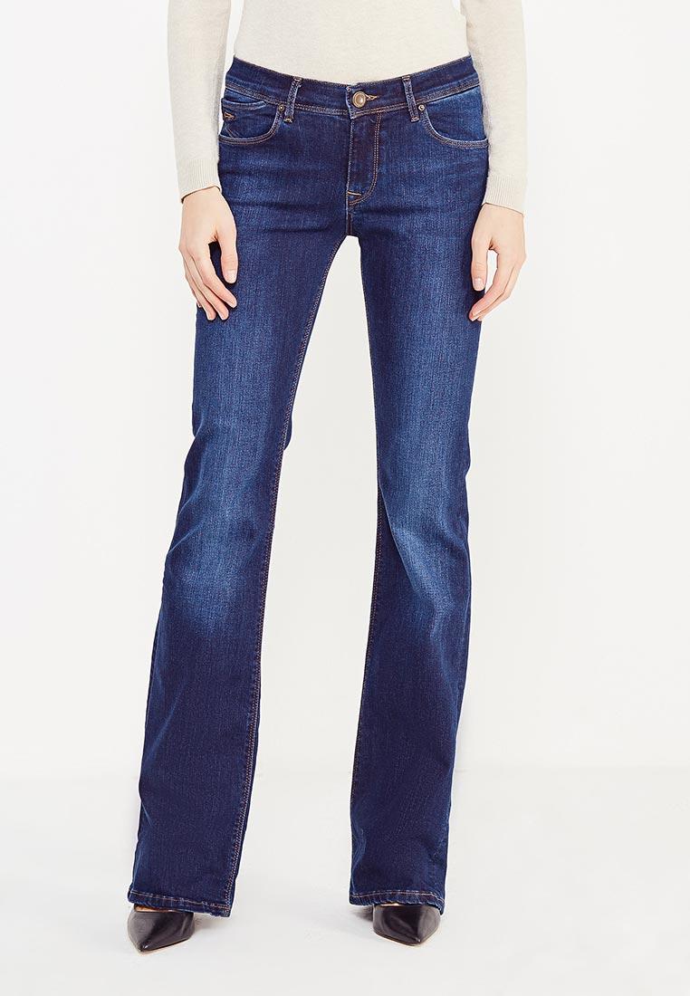 Широкие и расклешенные джинсы WHITNEY W/BQ-876-5-INDIANA-blue-26/34