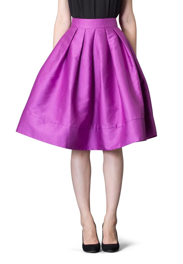 Широкая юбка Cavo CVDRLP002-purple-S