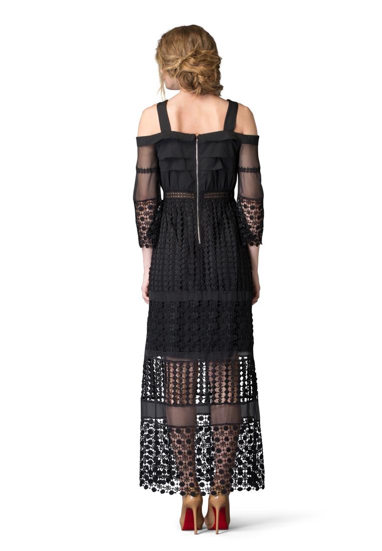 Платье-макси Cavo CVDRMC050-black-S