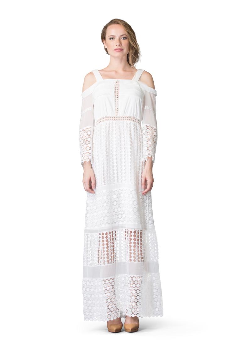 Платье-макси Cavo CVDRMC041-white-S