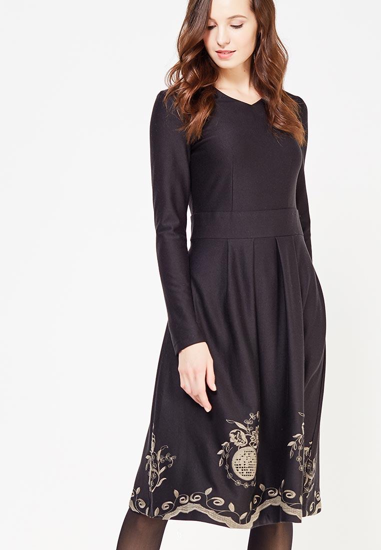 Платье Demurya Collection DEM19-PLAPLFLOR01/black-42