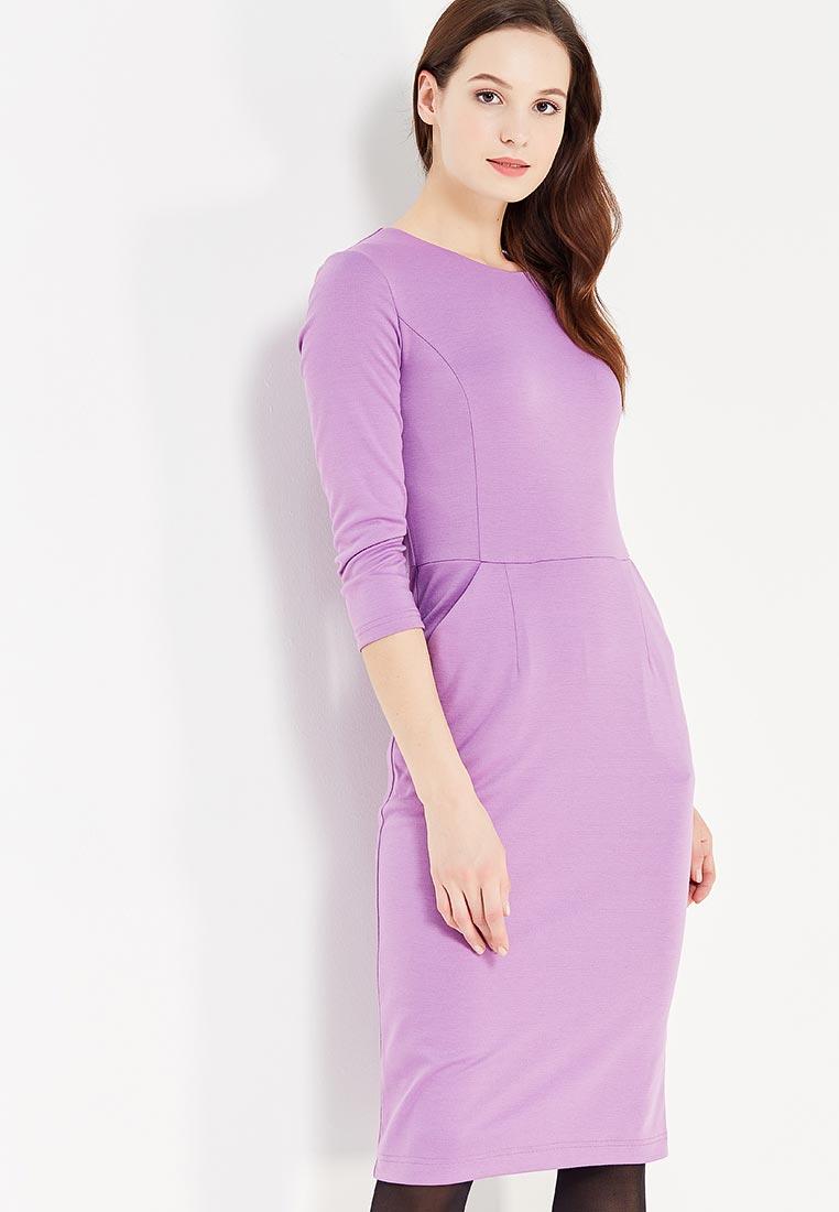 Деловое платье DEMURYA CONCEPT DEM18-PLKAR/LILOV-42