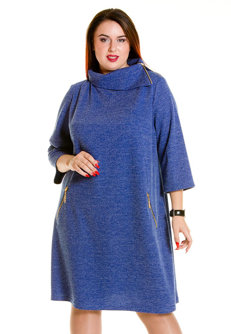 Вязаное платье Luxury Plus 691-bl-56