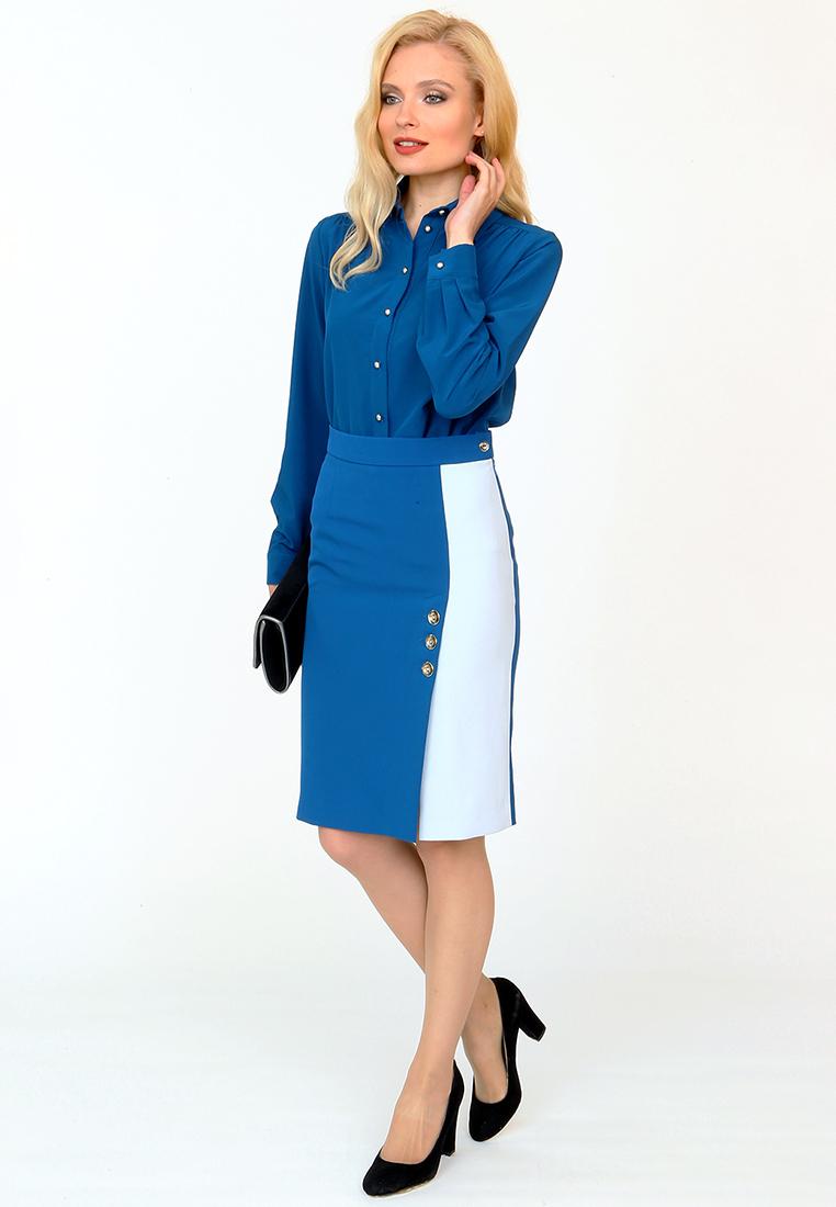 Прямая юбка MARI VERA Юбка-216201-1-42
