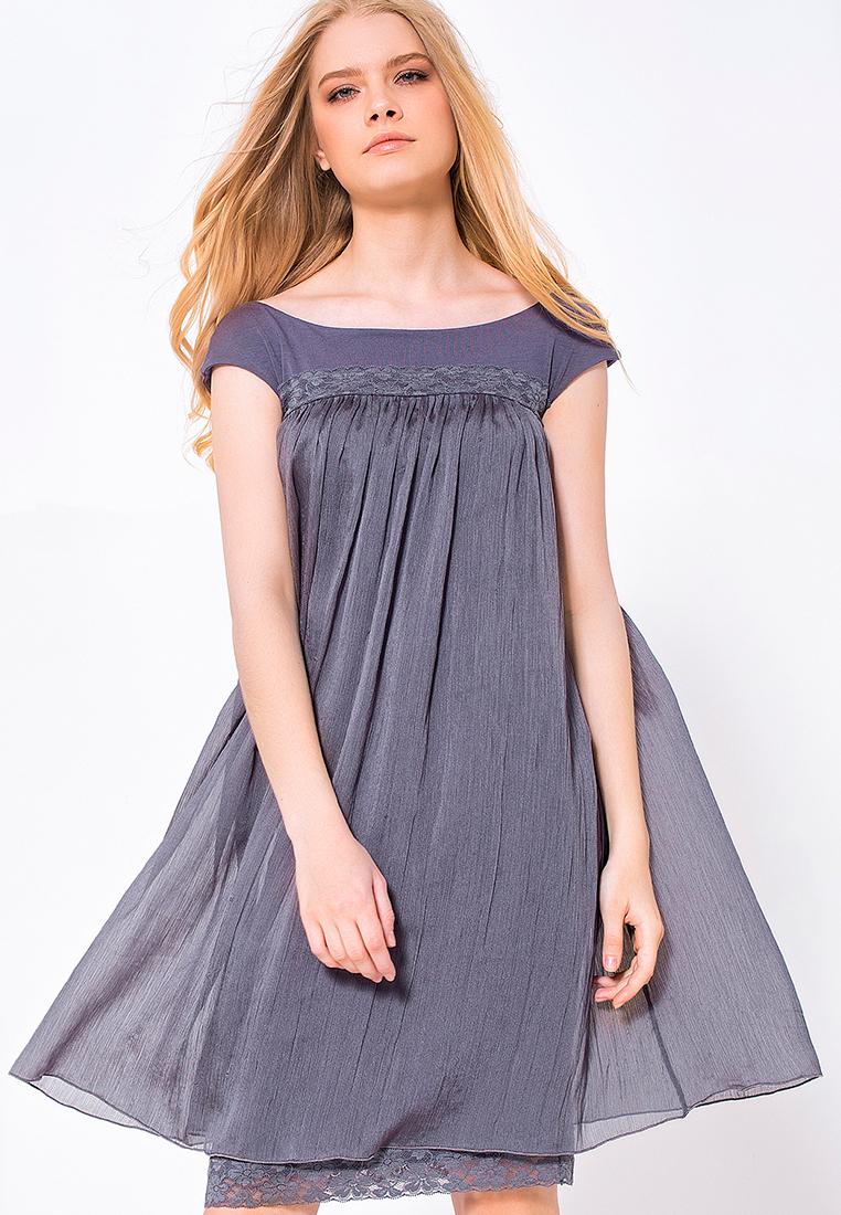 Вечернее / коктейльное платье LO 03172019/дымчатый/40