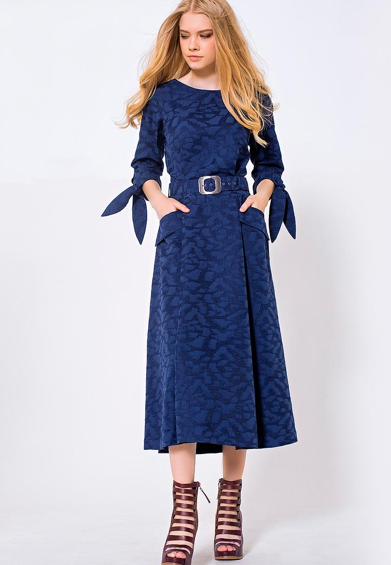 Повседневное платье JN 03172004JN/синий/40
