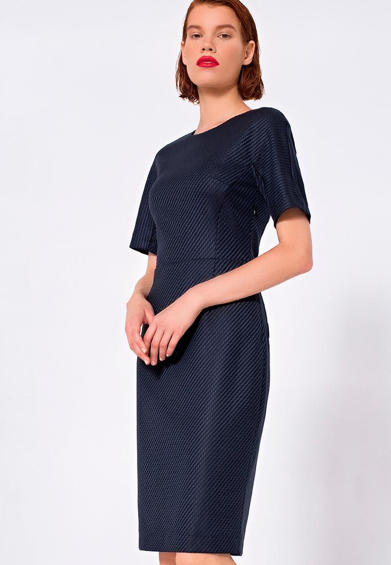 Платье-миди LO 03172011/синий/40