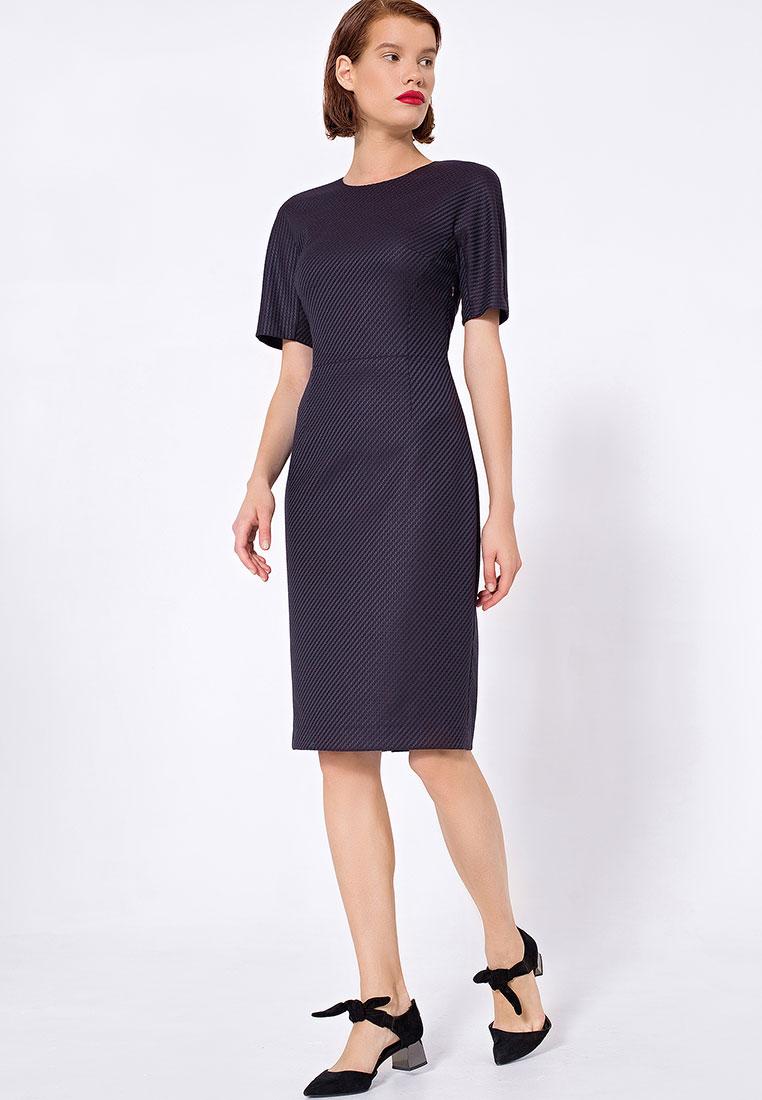 Платье-миди LO 03172011/черный/40