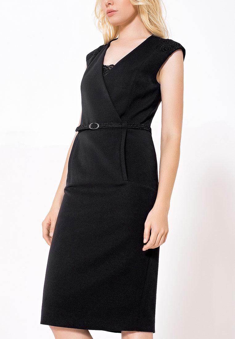Платье-миди LO 03172018/черный/40