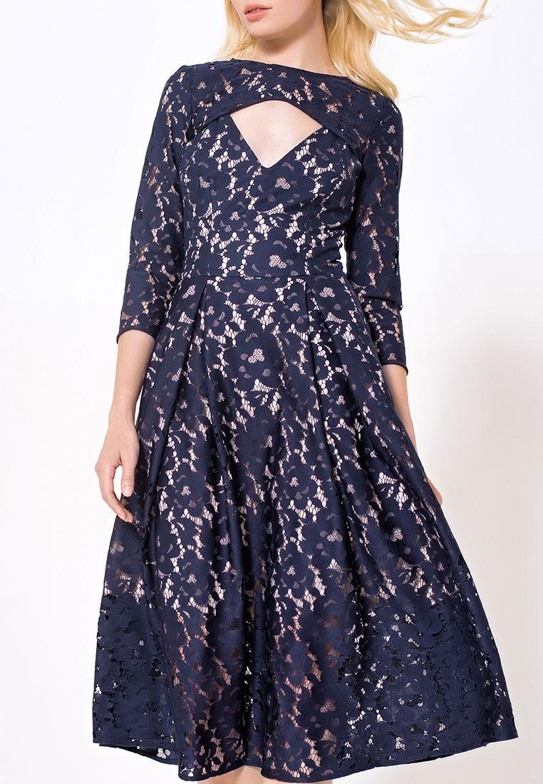Вечернее / коктейльное платье JN 03172003JN/синий/40