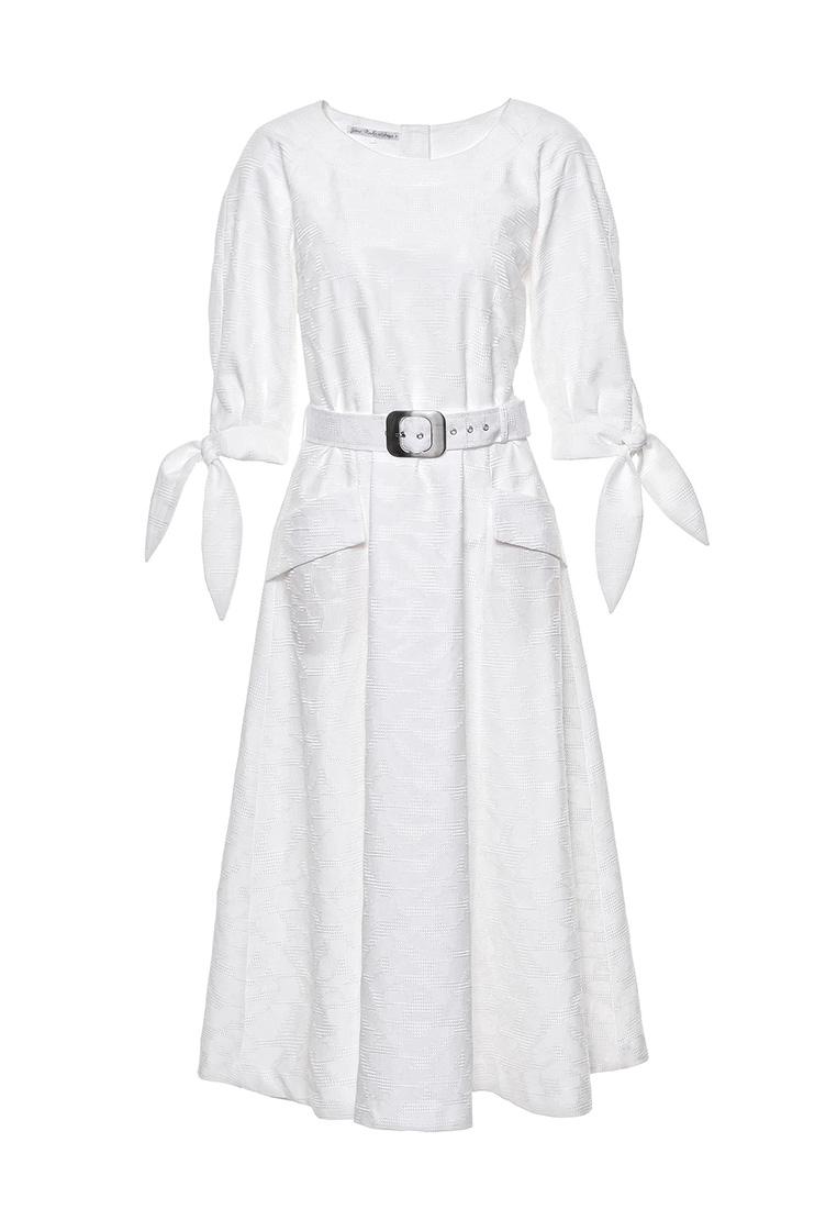 Платье-миди JN 03172004JN/айвори/40