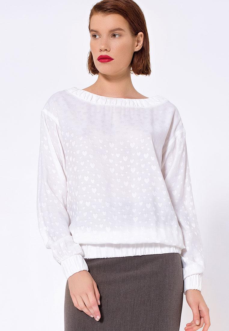 Блуза LO 11172036/молочный/40