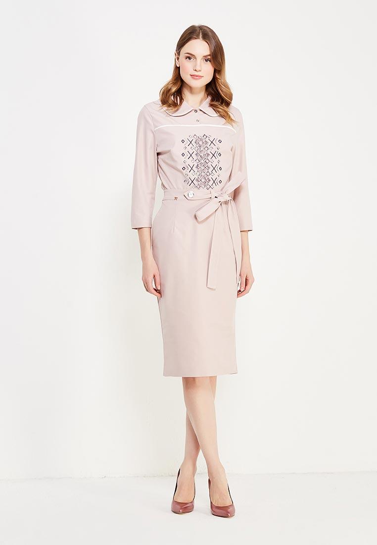 Костюм с юбкой MAZAL M06013-S-pink