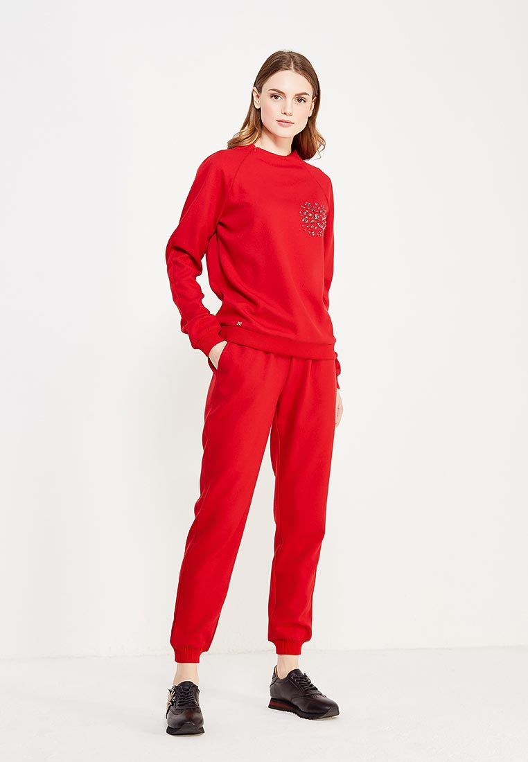 Костюм с брюками MAZAL M07042-S-red