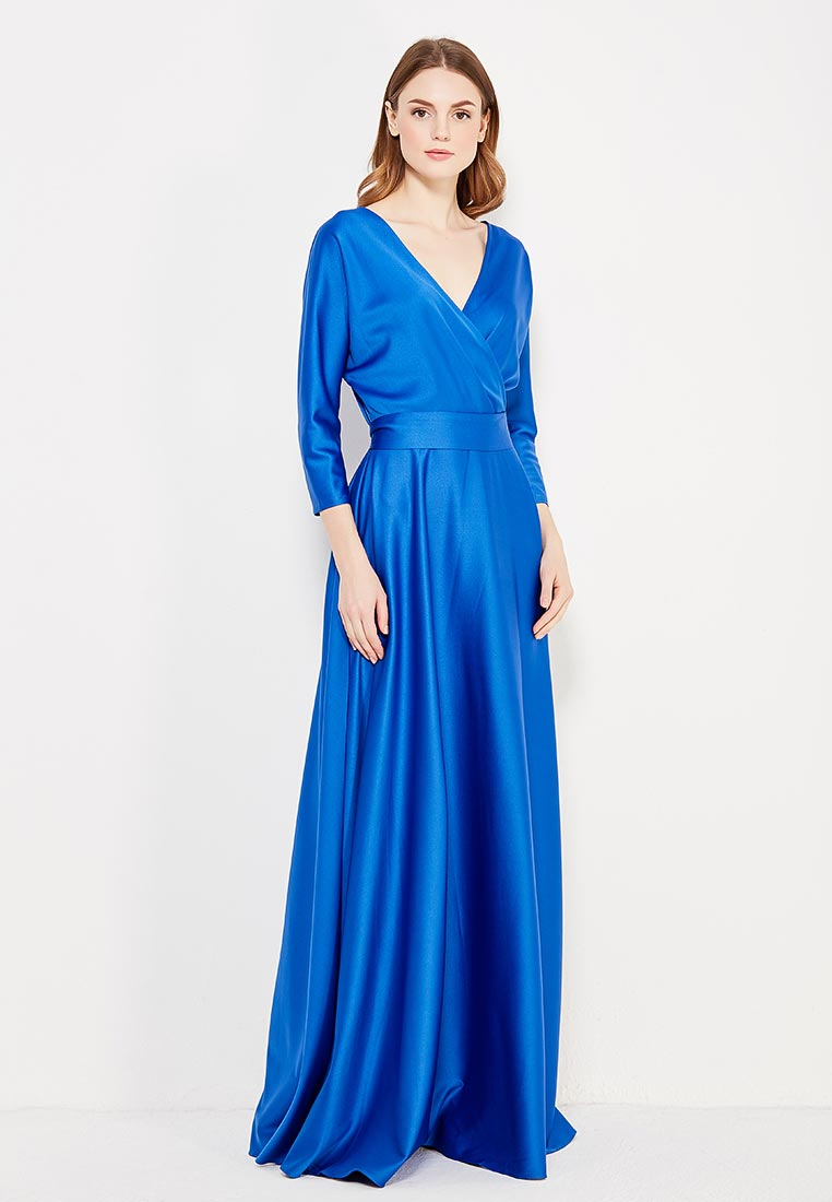 Платье-макси MAZAL M078-S-blue