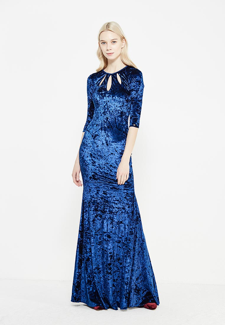 Платье-макси MAZAL M314-S-blue