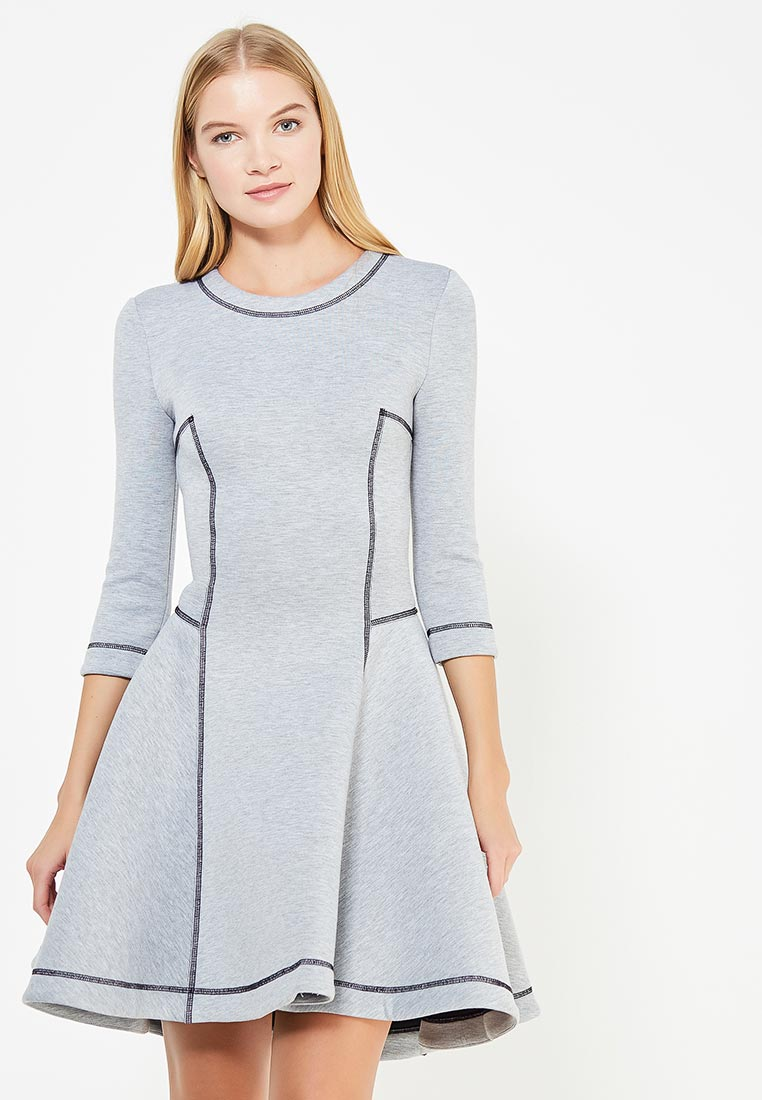 Повседневное платье MAZAL M329-S-gray