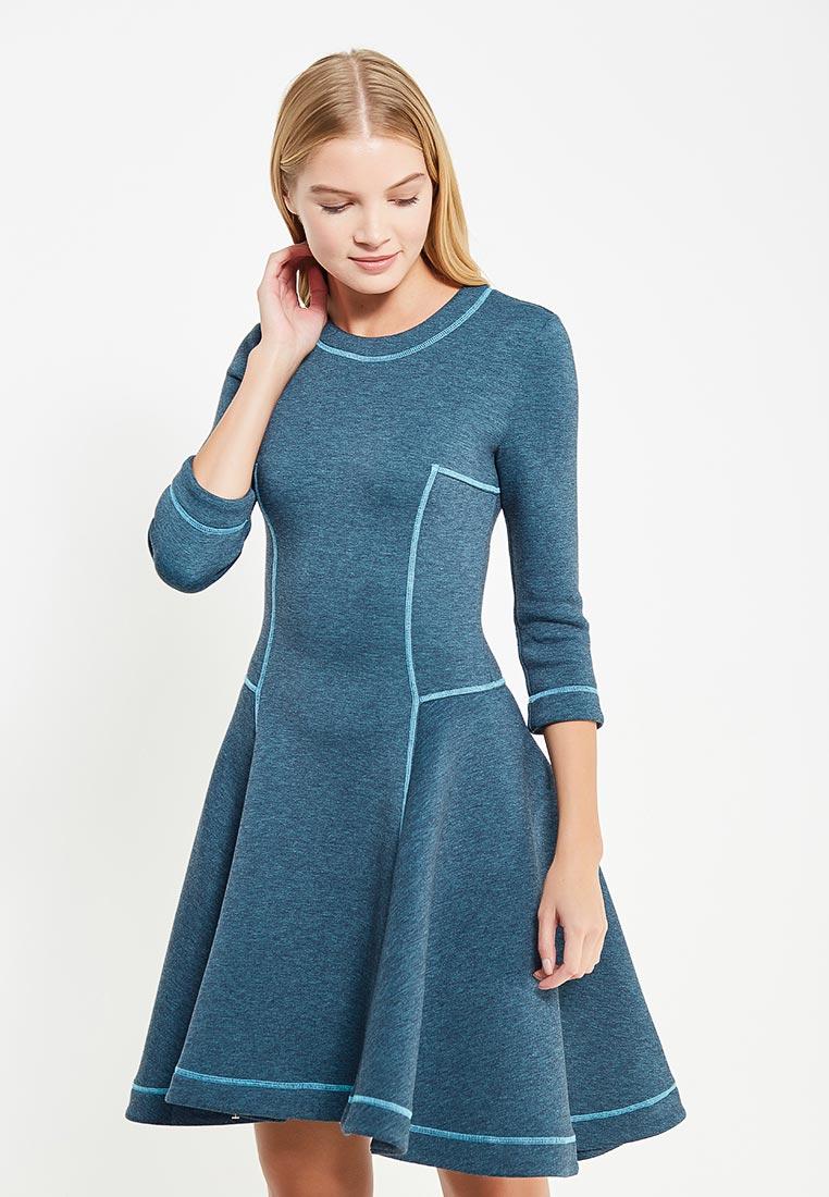 Повседневное платье MAZAL M329-S-blue