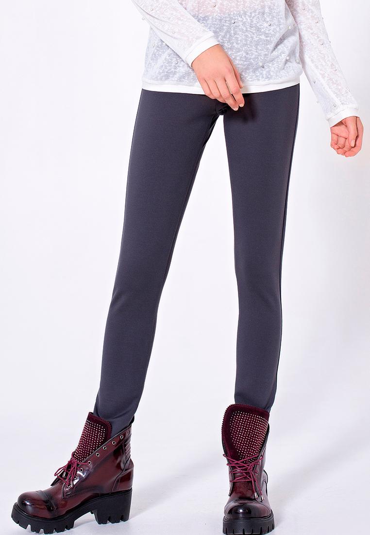 Женские зауженные брюки LO 18172014/серый/40