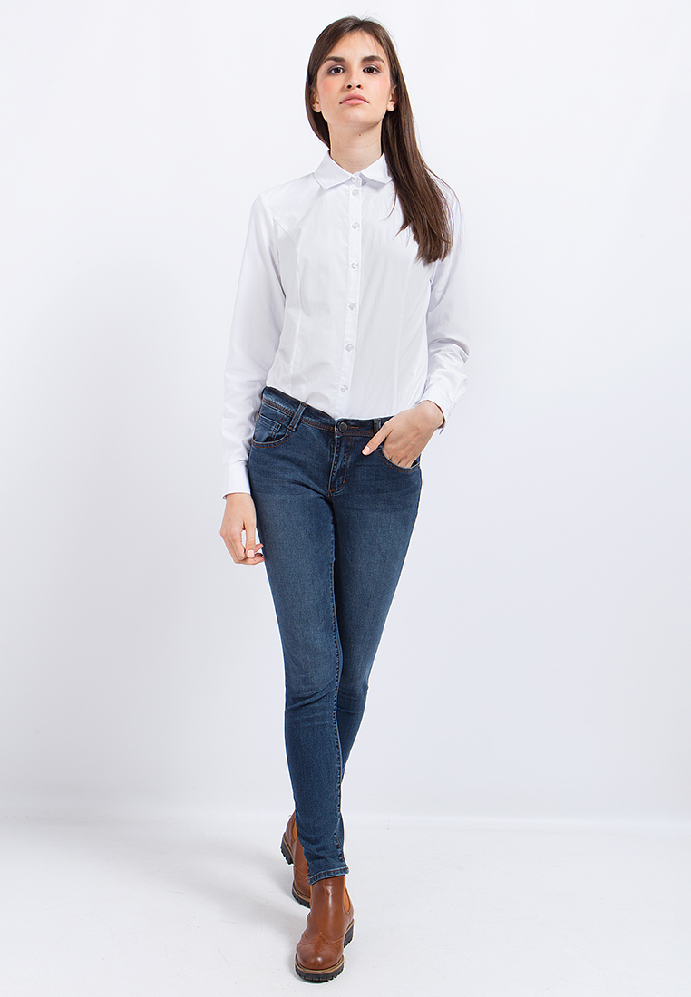 Зауженные джинсы Finn Flare (Фин Флаер) A17-15006-127-28/32
