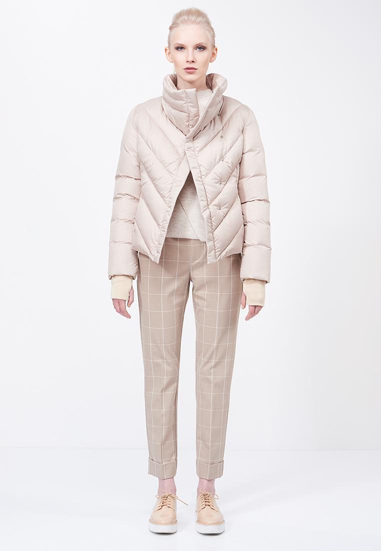 Утепленная куртка 88 Piuma E Piumaggio GON020BK_BIEGE_S