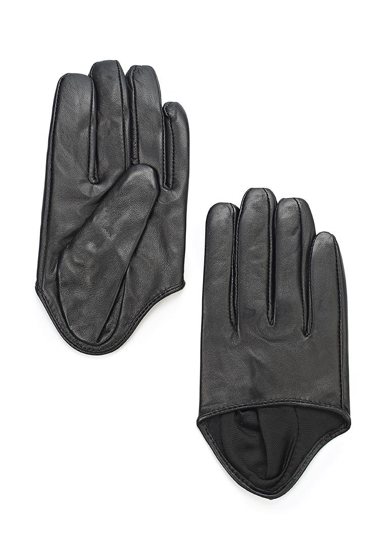 Женские перчатки MAISONQUE 18MGLO04/черный, L