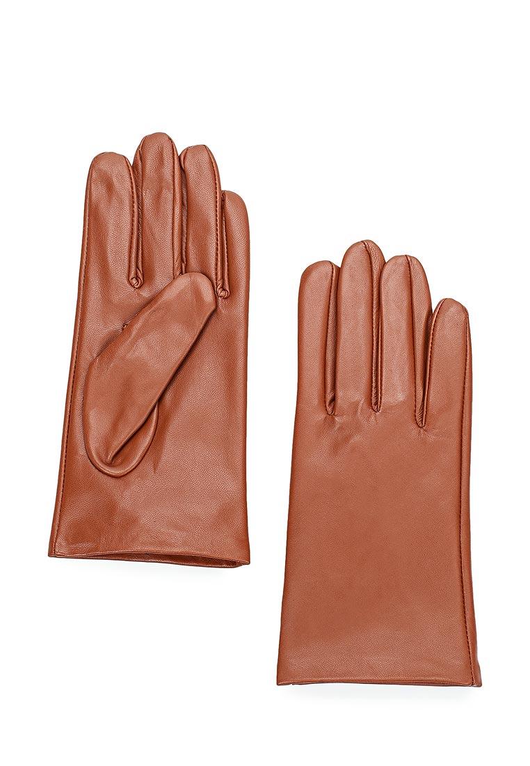 Женские перчатки MAISONQUE 18MGLO02/коньячный, M