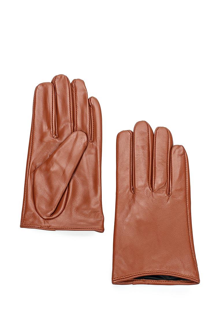 Женские перчатки MAISONQUE 18MGLO03/коньячный, M