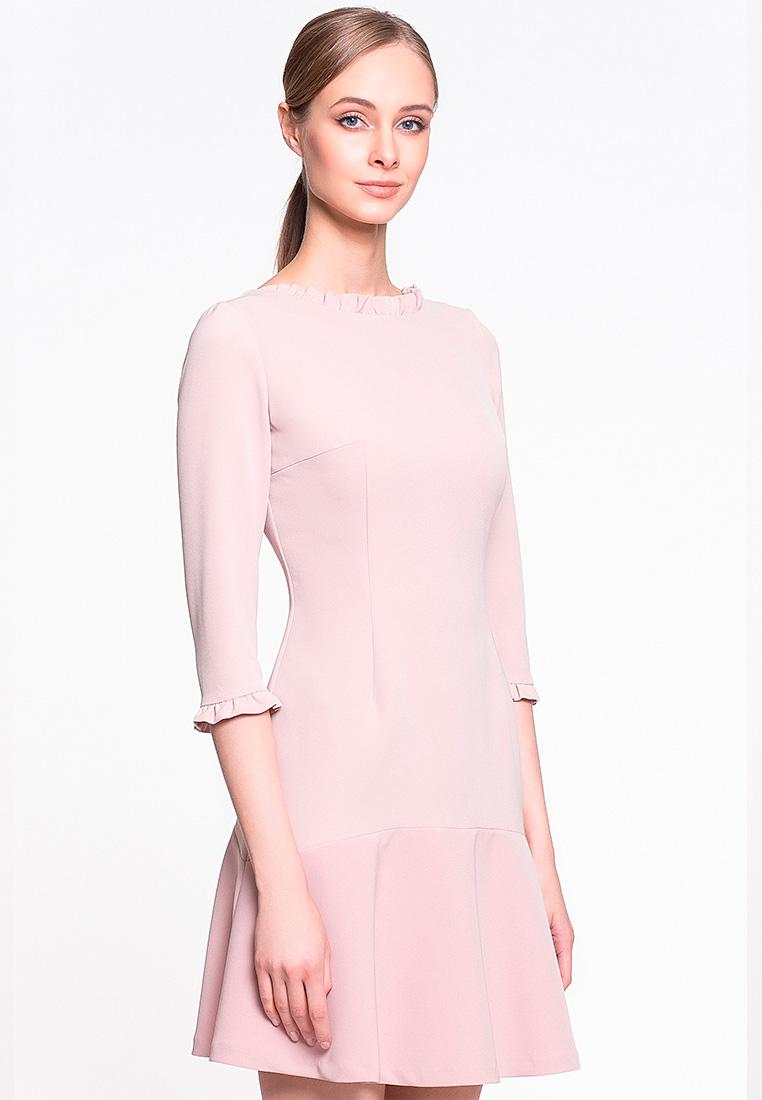 Повседневное платье GENEVIE Платье L 9513 Бежевый S