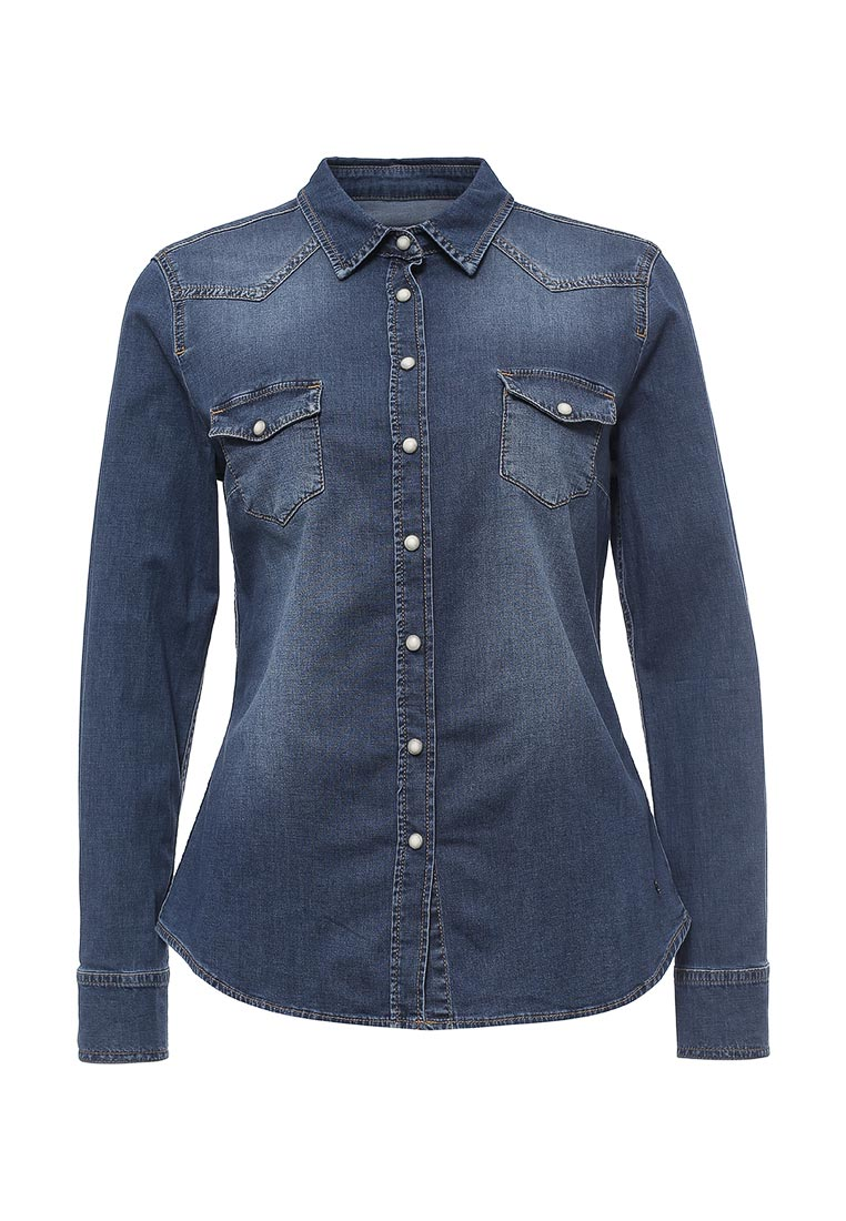 Женские джинсовые рубашки Mustang (Мустанг) 1003974-5000-311