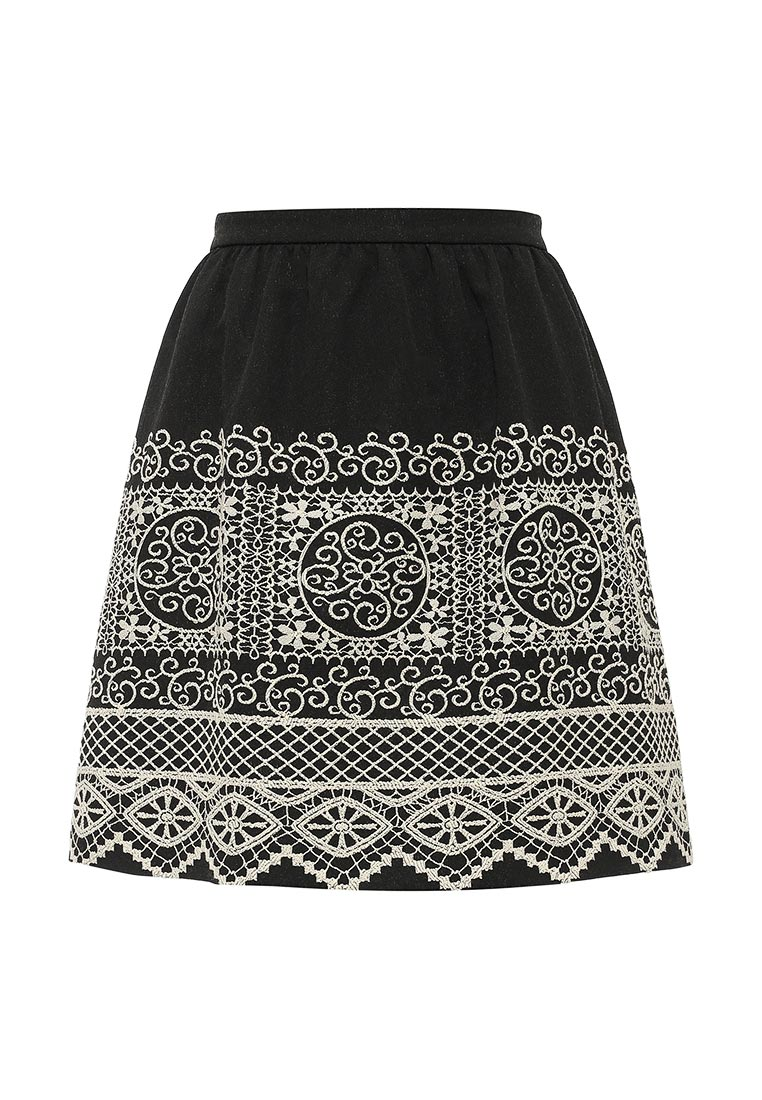 Широкая юбка Naf Naf CHNJ62D