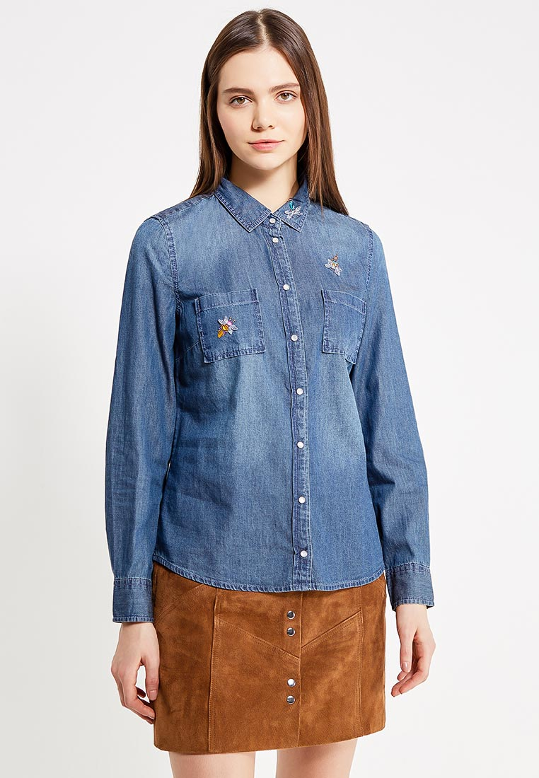 Женские джинсовые рубашки Naf Naf (Наф Наф) GHNC2