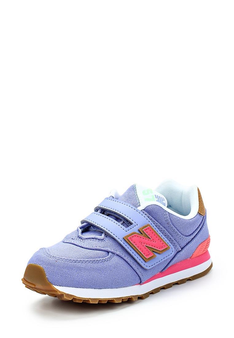 Кроссовки для девочек New Balance (Нью Баланс) YV574T4