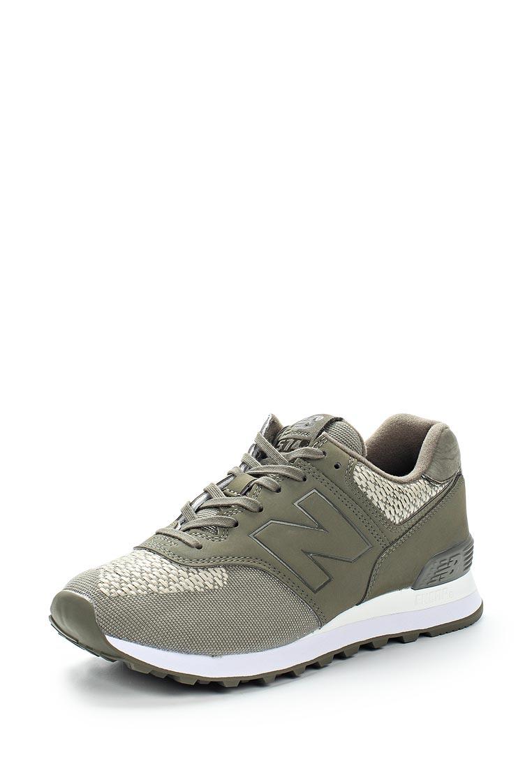 Женские кроссовки New Balance (Нью Баланс) WL574FAC