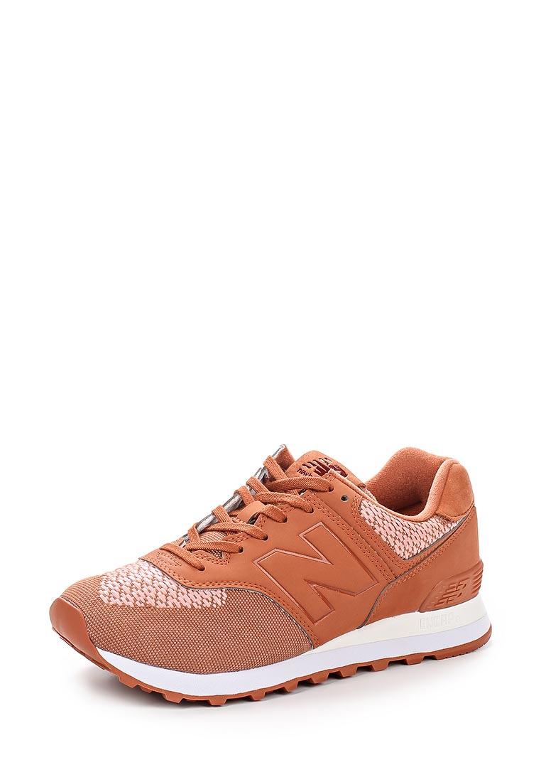 Женские кроссовки New Balance (Нью Баланс) WL574FAD