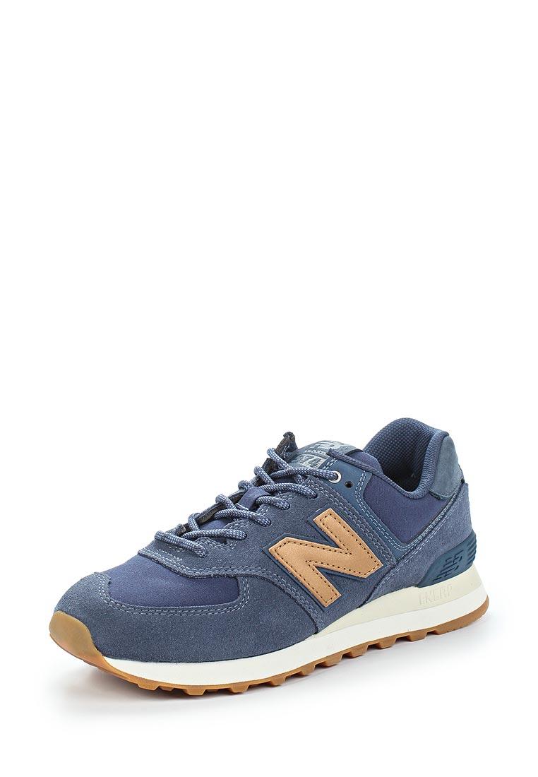 Женские кроссовки New Balance (Нью Баланс) WL574CLI