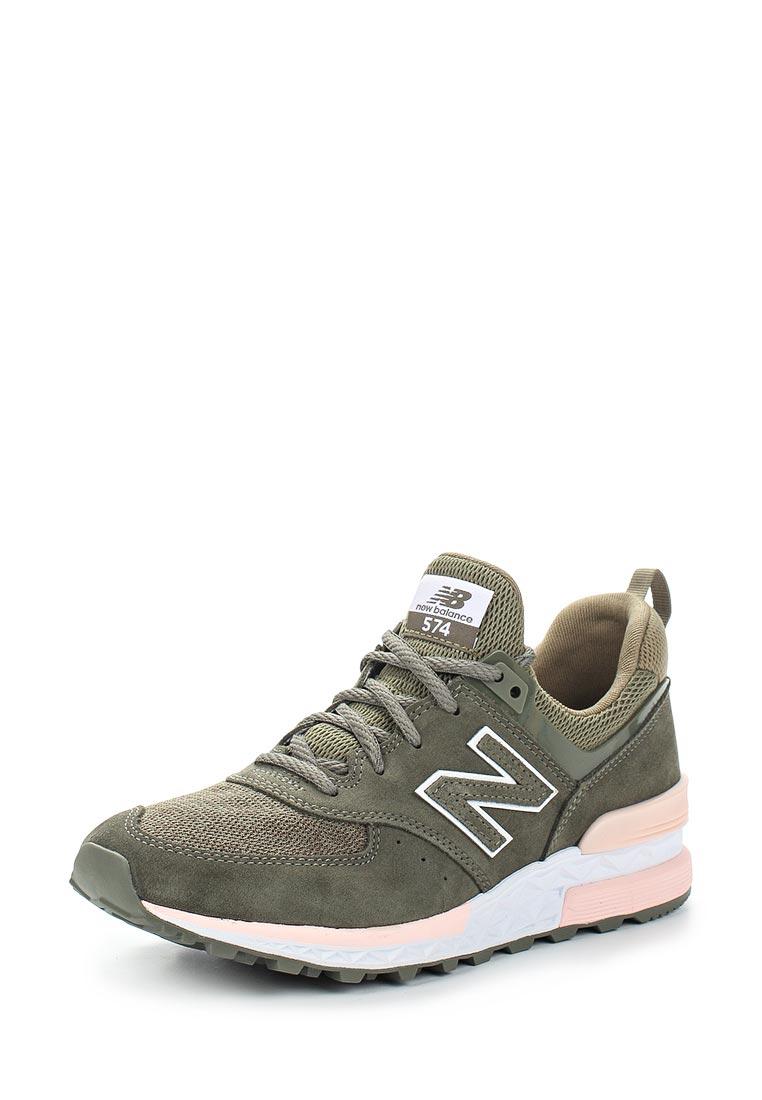 Женские кроссовки New Balance (Нью Баланс) WS574EO