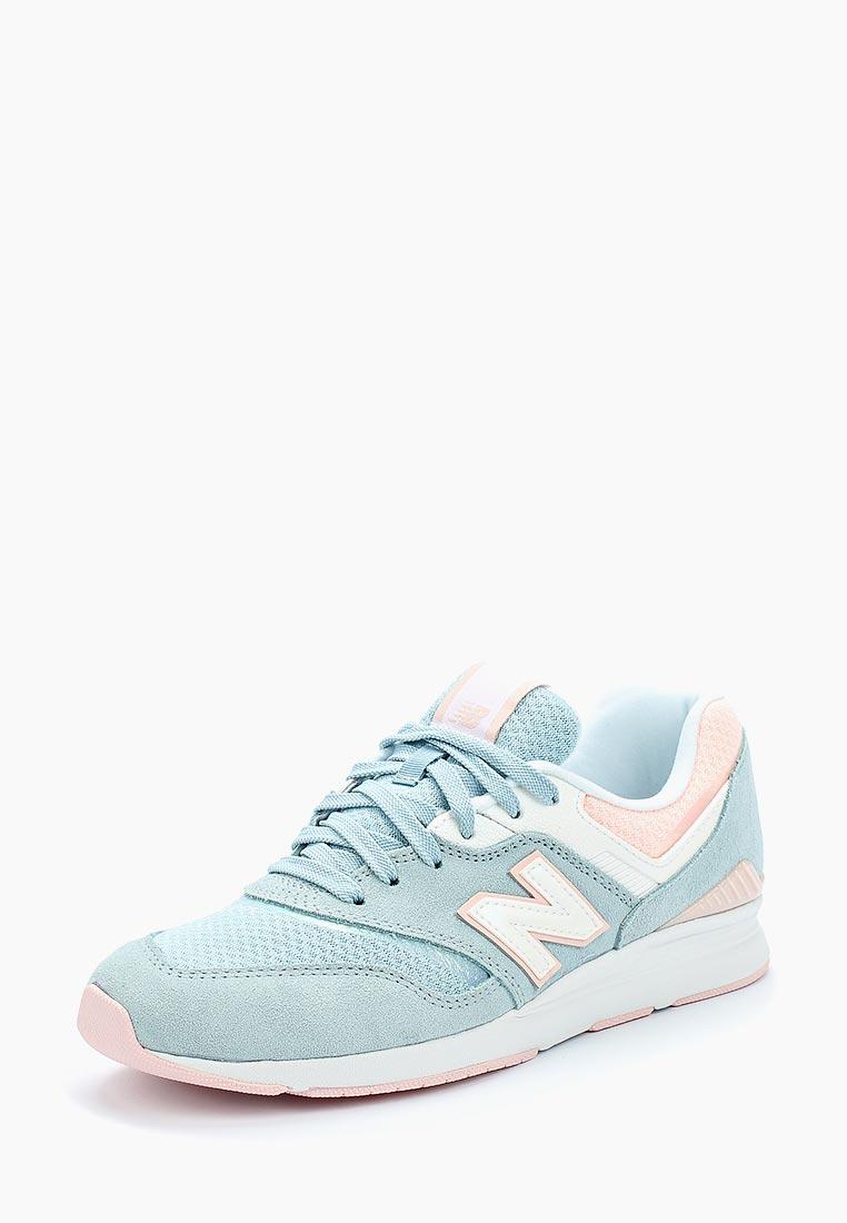 Женские кроссовки New Balance (Нью Баланс) WL697PTU